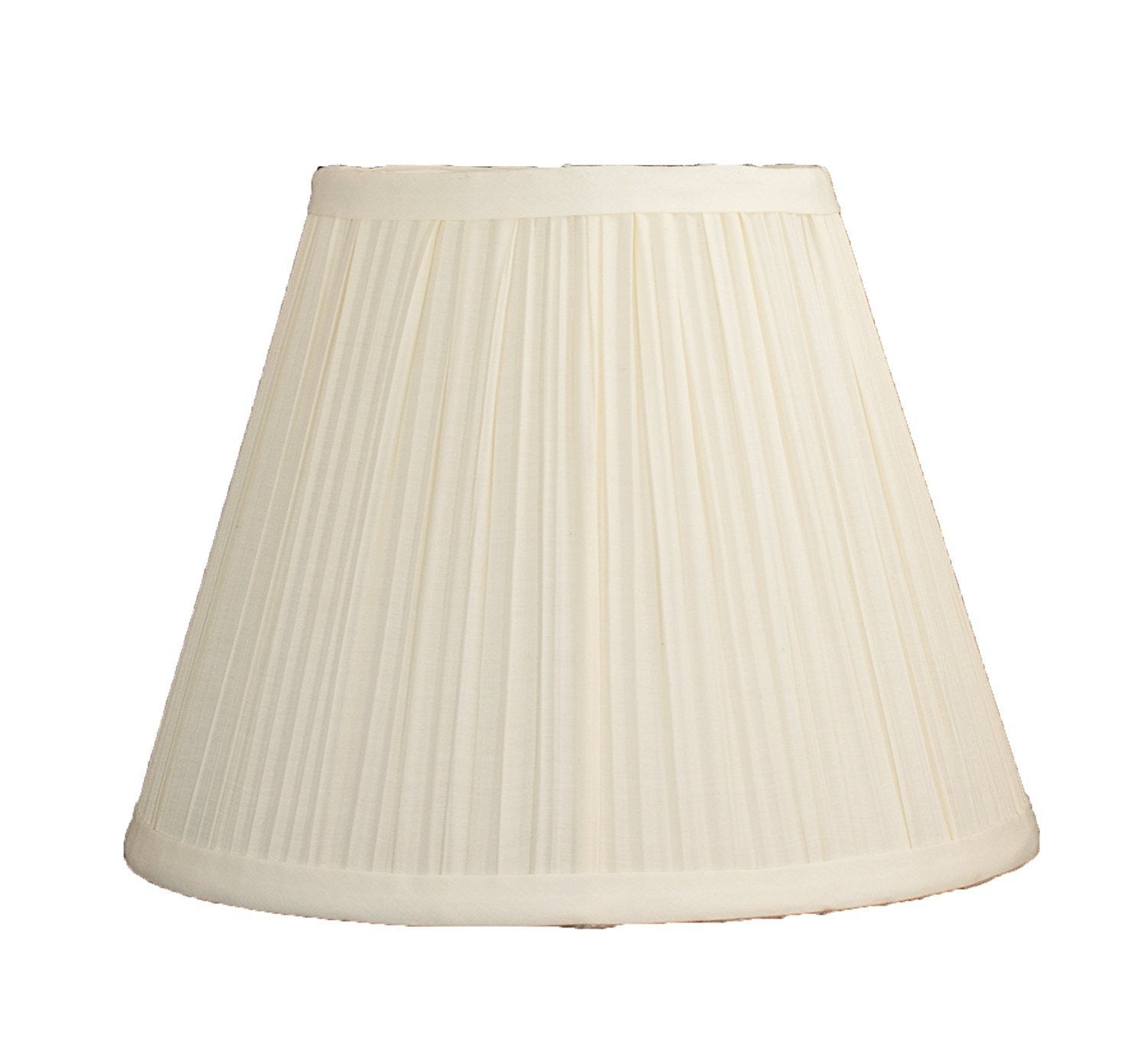 Mushroom Pleated Softback Lamp Shade, Faux Silk, 5-inch by 9-inch ...