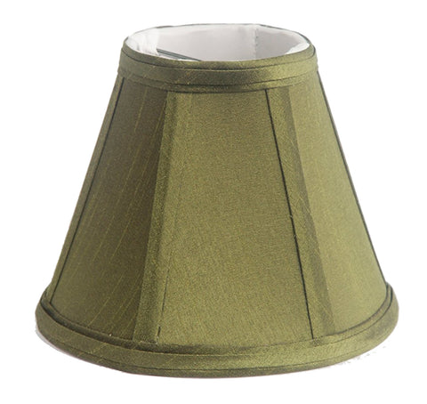 Silk Empire 6-inch Chandelier Lamp Shade - 6 Colors