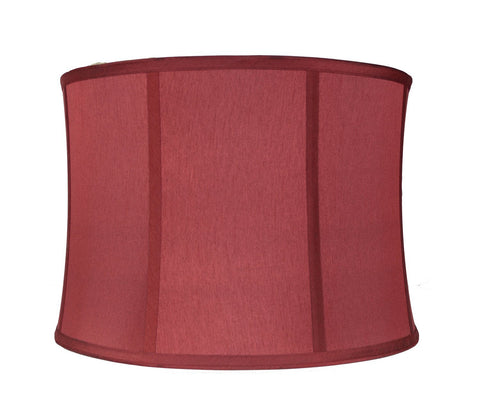 Lamp shades urbanest faux silk softback drum 14 inch lamp shade 6 colors aloadofball Image collections