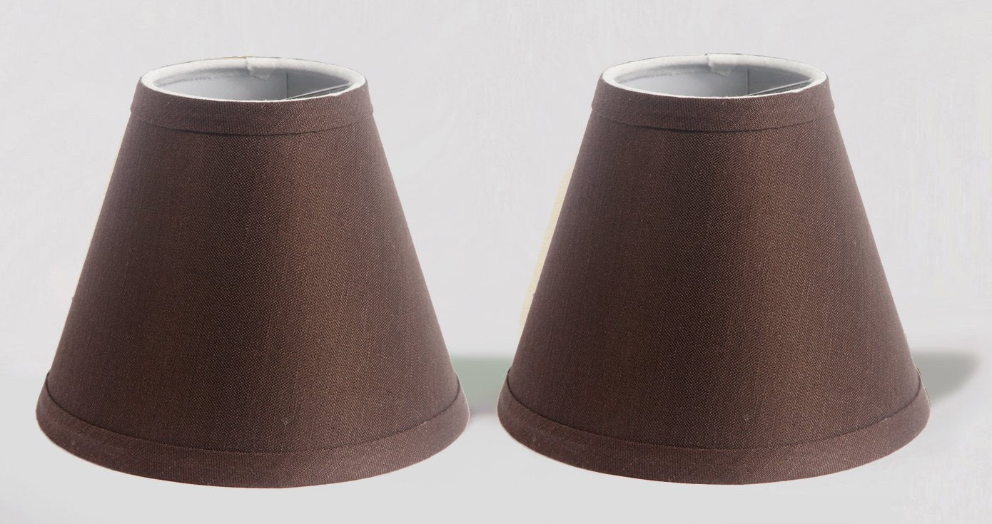 Linen 6 Inch Chandelier Lamp Shades 6 Colors Urbanest