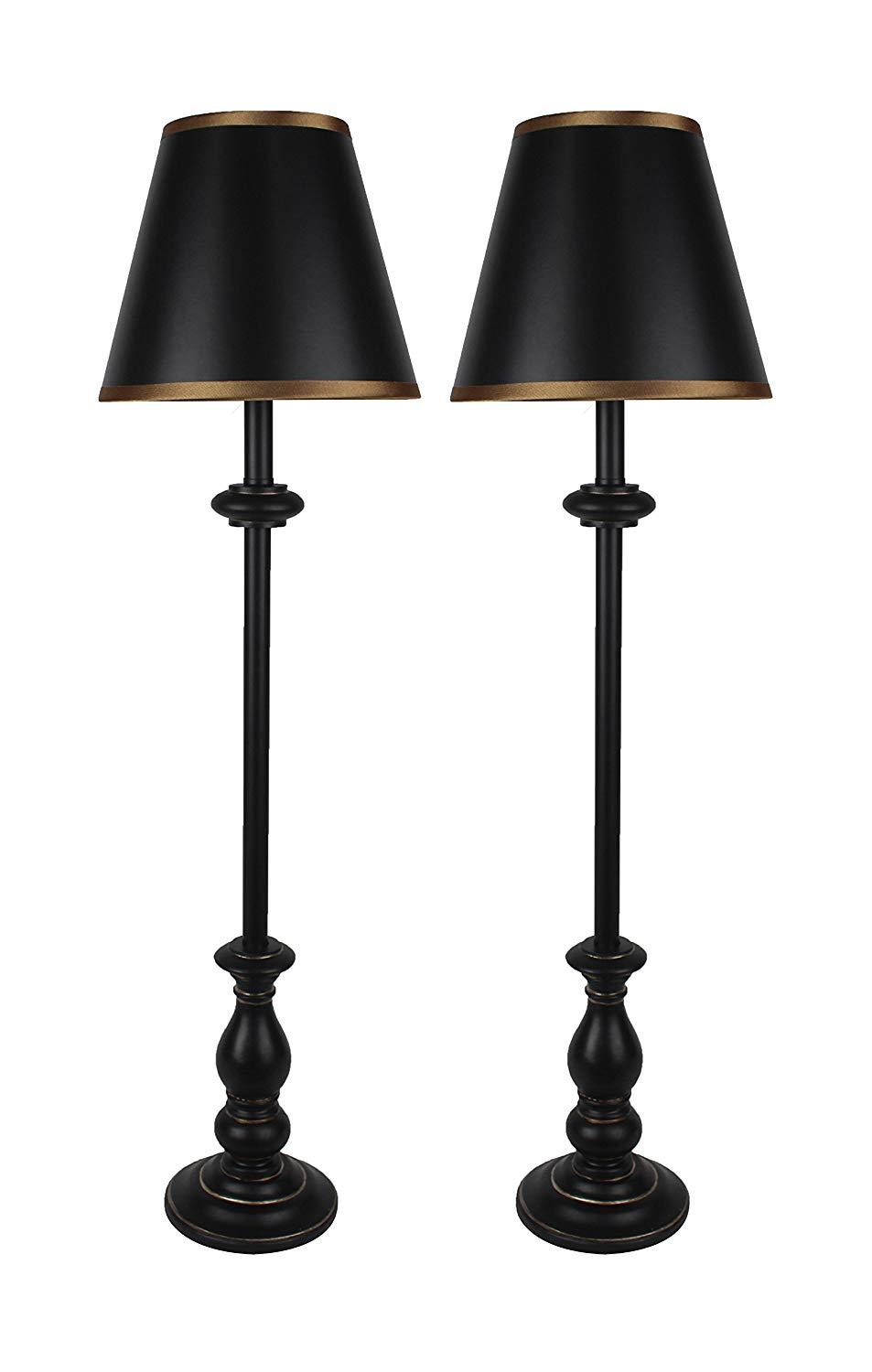 Urbanest Set of 2 Banchetto Buffet Lamps with Shades