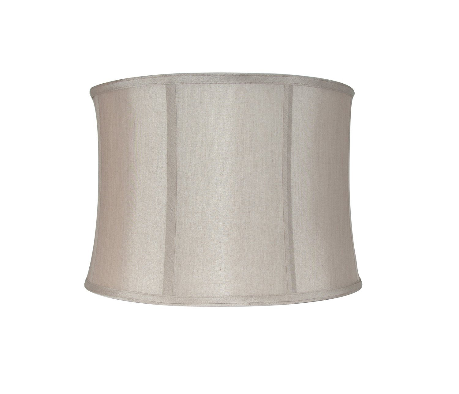 Softback Faux Silk 16-inch Drum Lampshade - 4 Colors