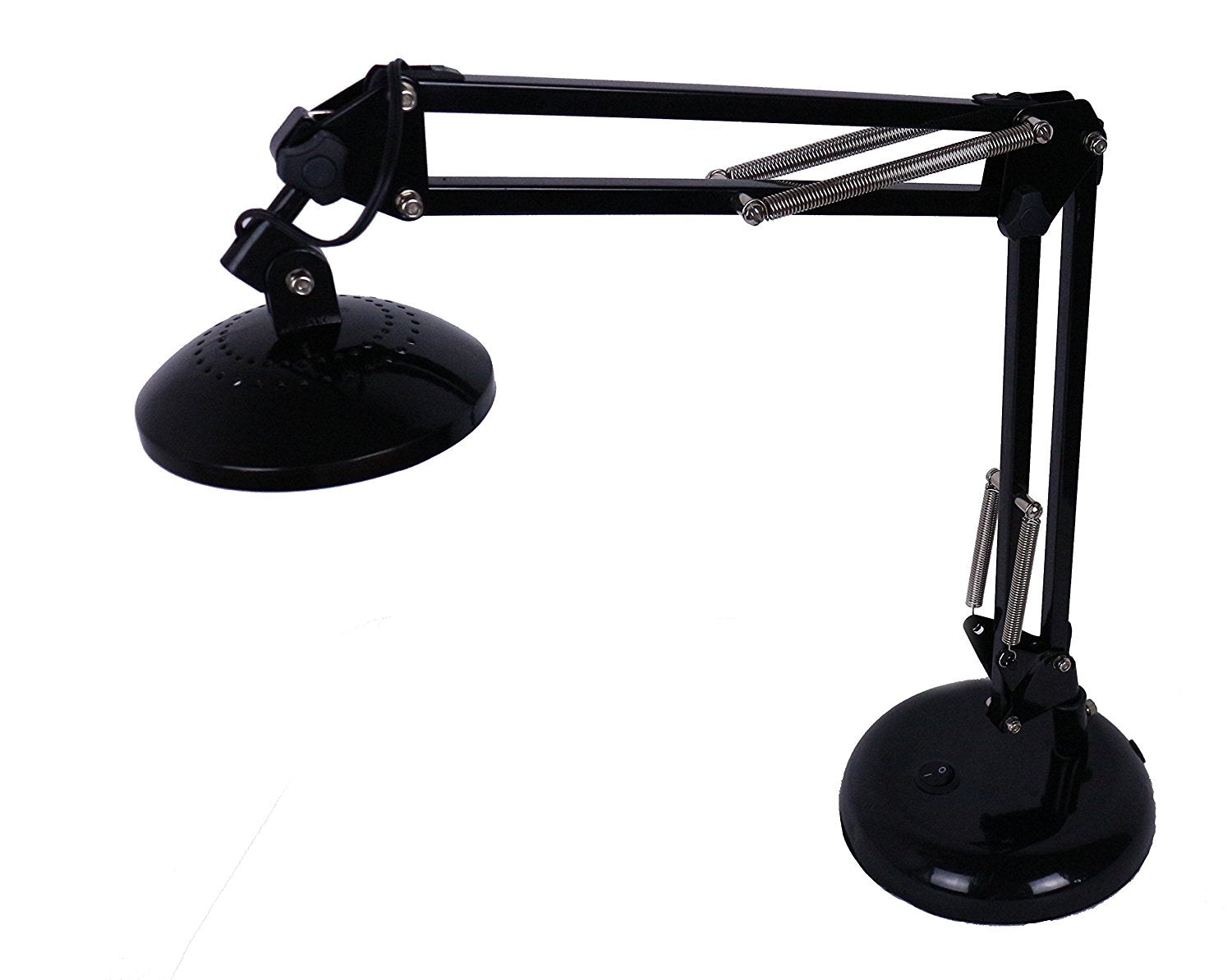 5-Watt LED Energy Saving Architect Swing Arm Desk Lamp, Black