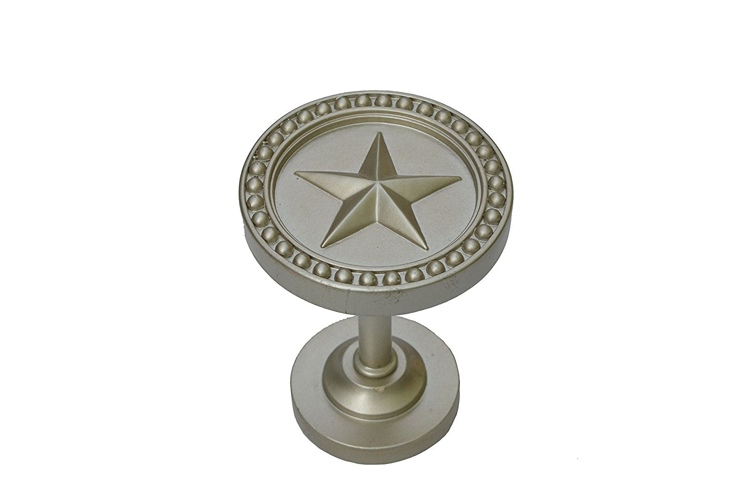 Star Decor Drapery Medallion Holdback - 6 Finishes