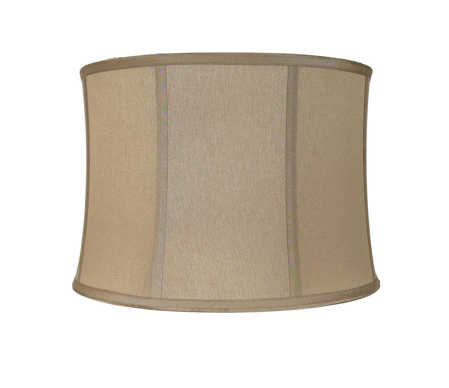 "Softback Drum Lampshade, Faux Silk, 10x11x8"", Spider"