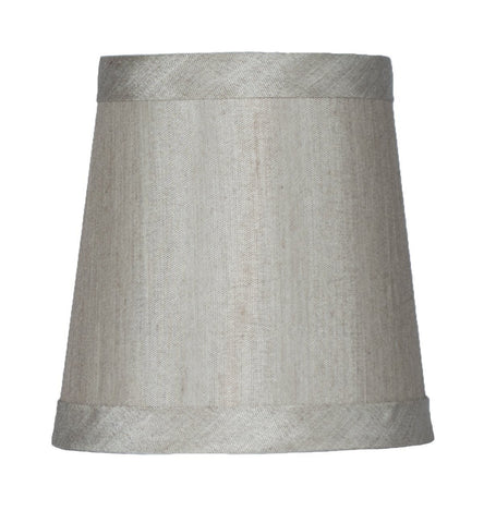 Faux Silk 4-inch Chandelier Lamp Shade - 6 Colors