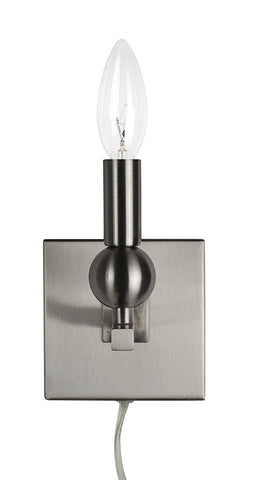 Zio Wall Sconce with Single Bulb (Cord)