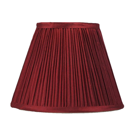 Mushroom Pleated Softback Lamp Shade, Faux Silk, 5-inch by 9-inch by 7-inch, Spider