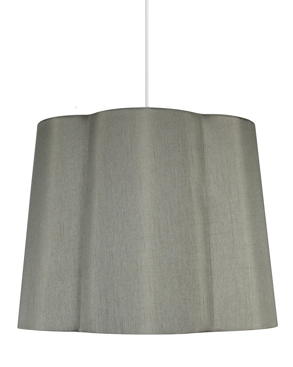 imani shade pendant with hanging light kit 16inch diameter 12inch