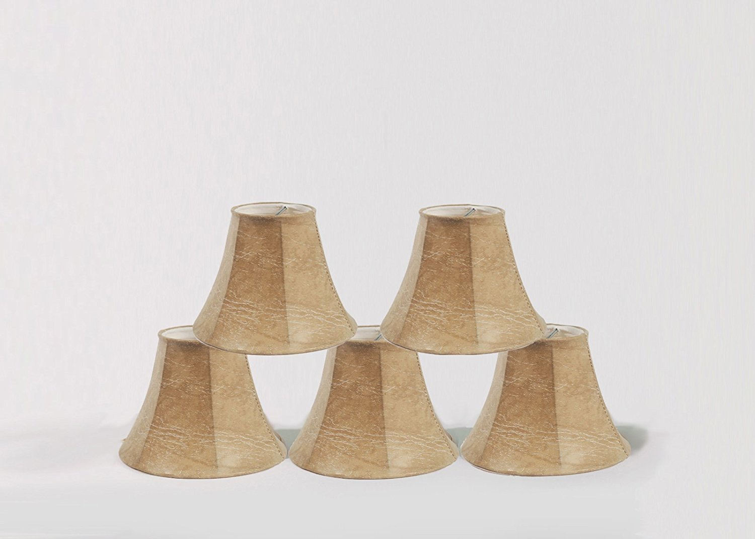 Faux leather chandelier mini lamp shade 5 and 6 sizes urbanest faux leather chandelier mini lamp shade 5 and 6 sizes aloadofball Choice Image