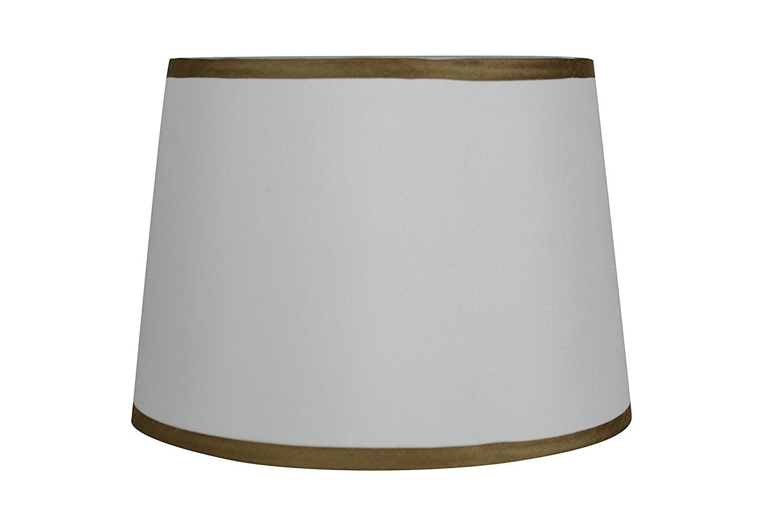 Silk French Drum with Gold Trim - 4 Colors