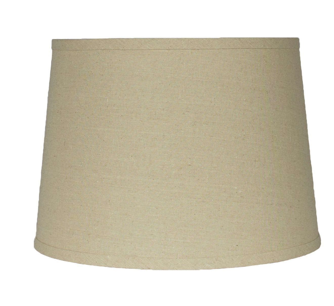 French Drum Lampshade Linen, 12-inch