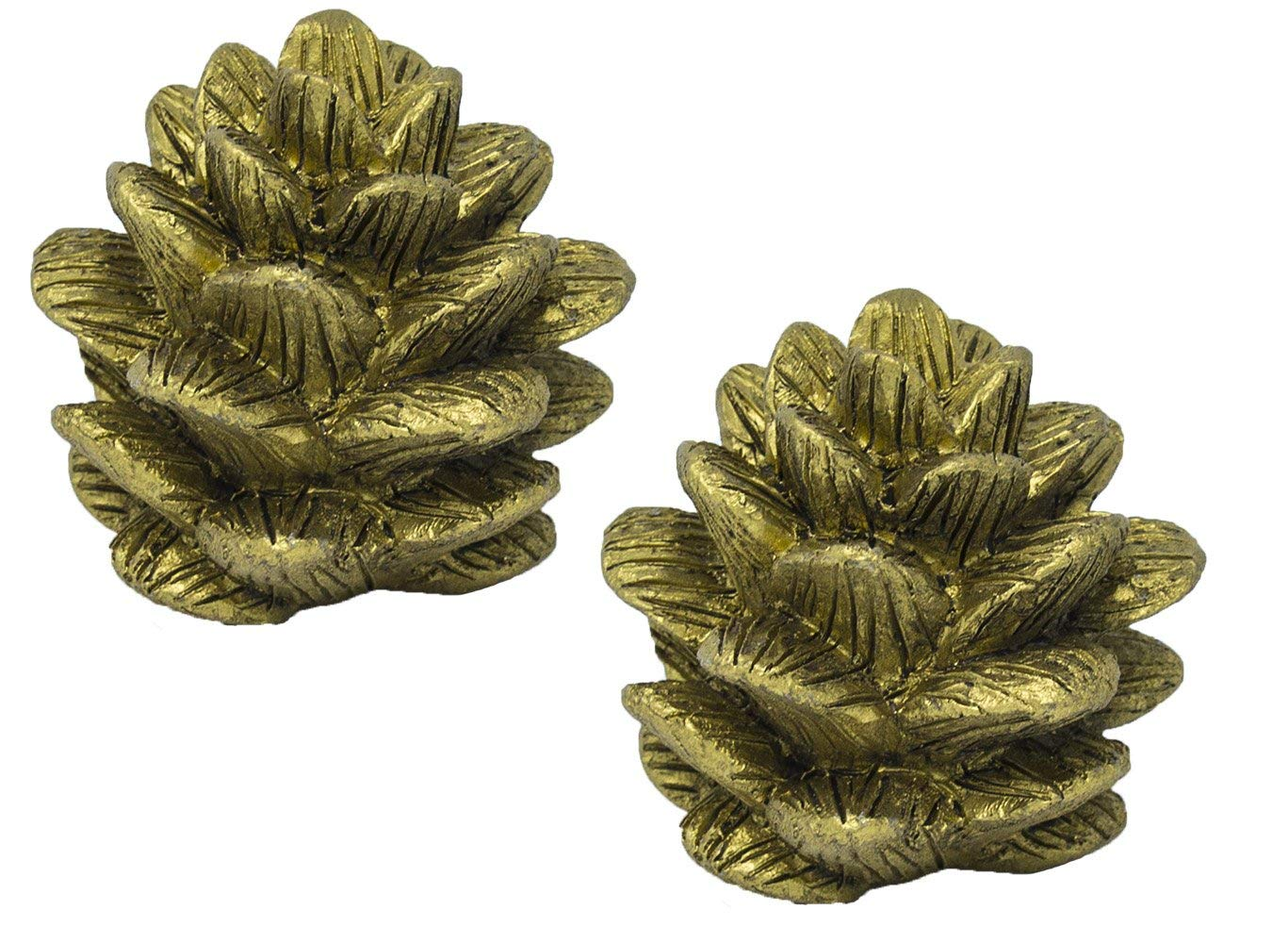 Urbanest Pinecone Lamp Finial, 1 3/4-inch Tall