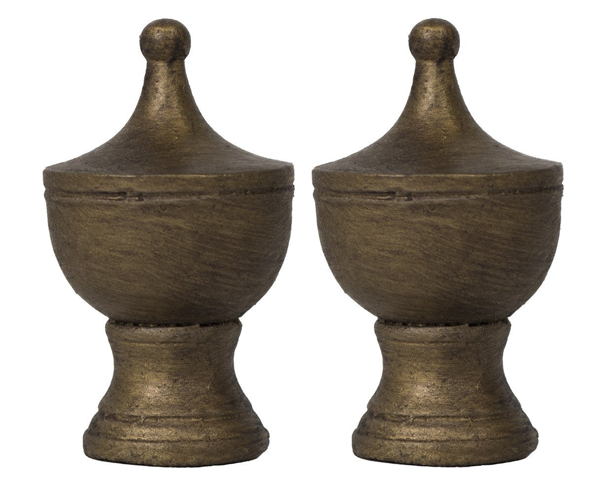 Urn Lamp Finial - 4 Finishes