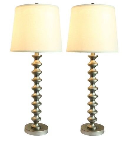Set of 2 Broche Table Lamps