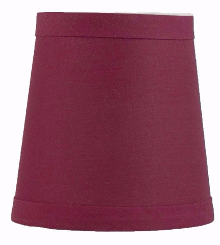Cotton 4-inch Chandelier Lamp Shades - 4 Colors