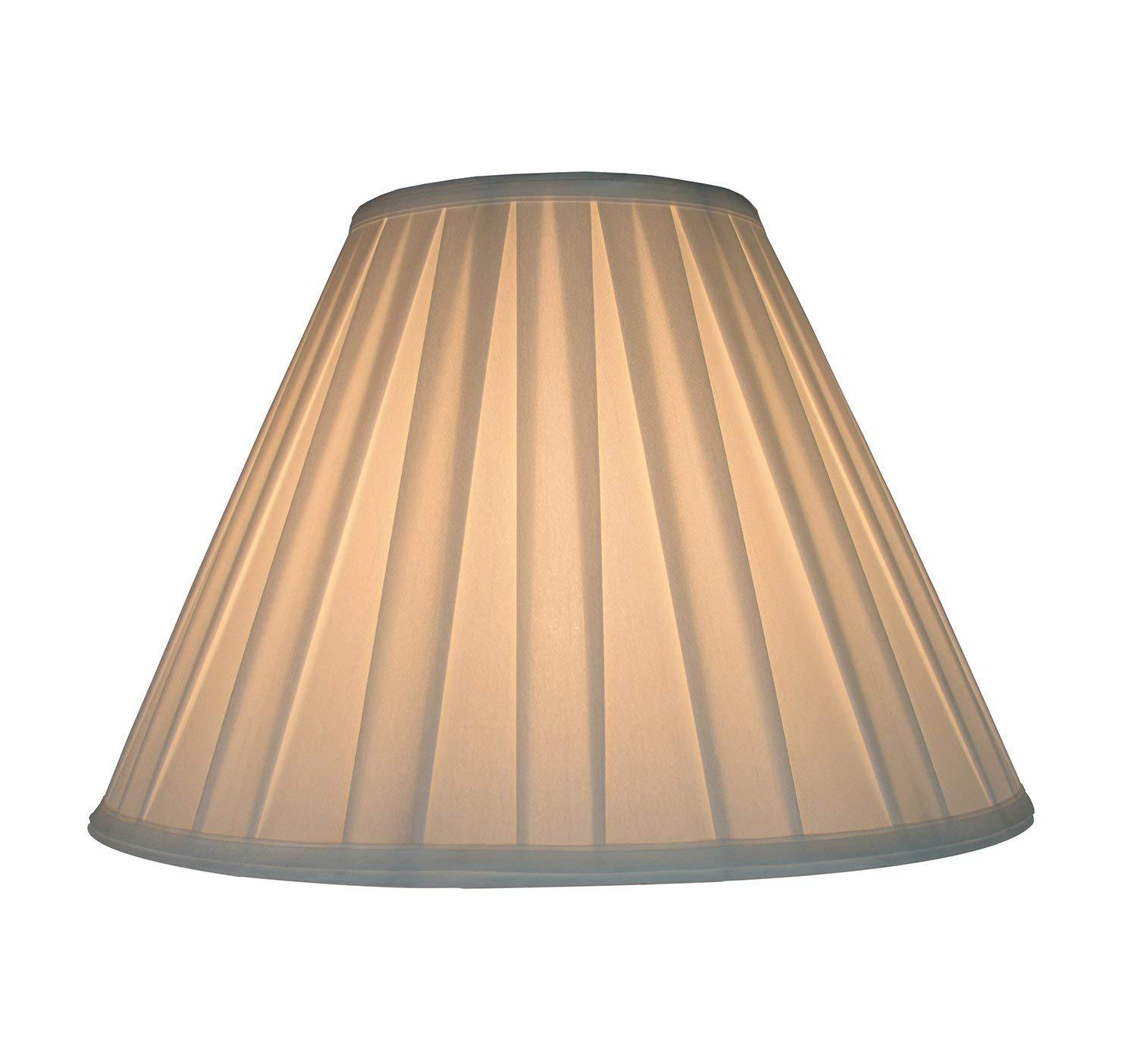 Urbanest Softback Empire Box Pleat Lampshade Faux Silk