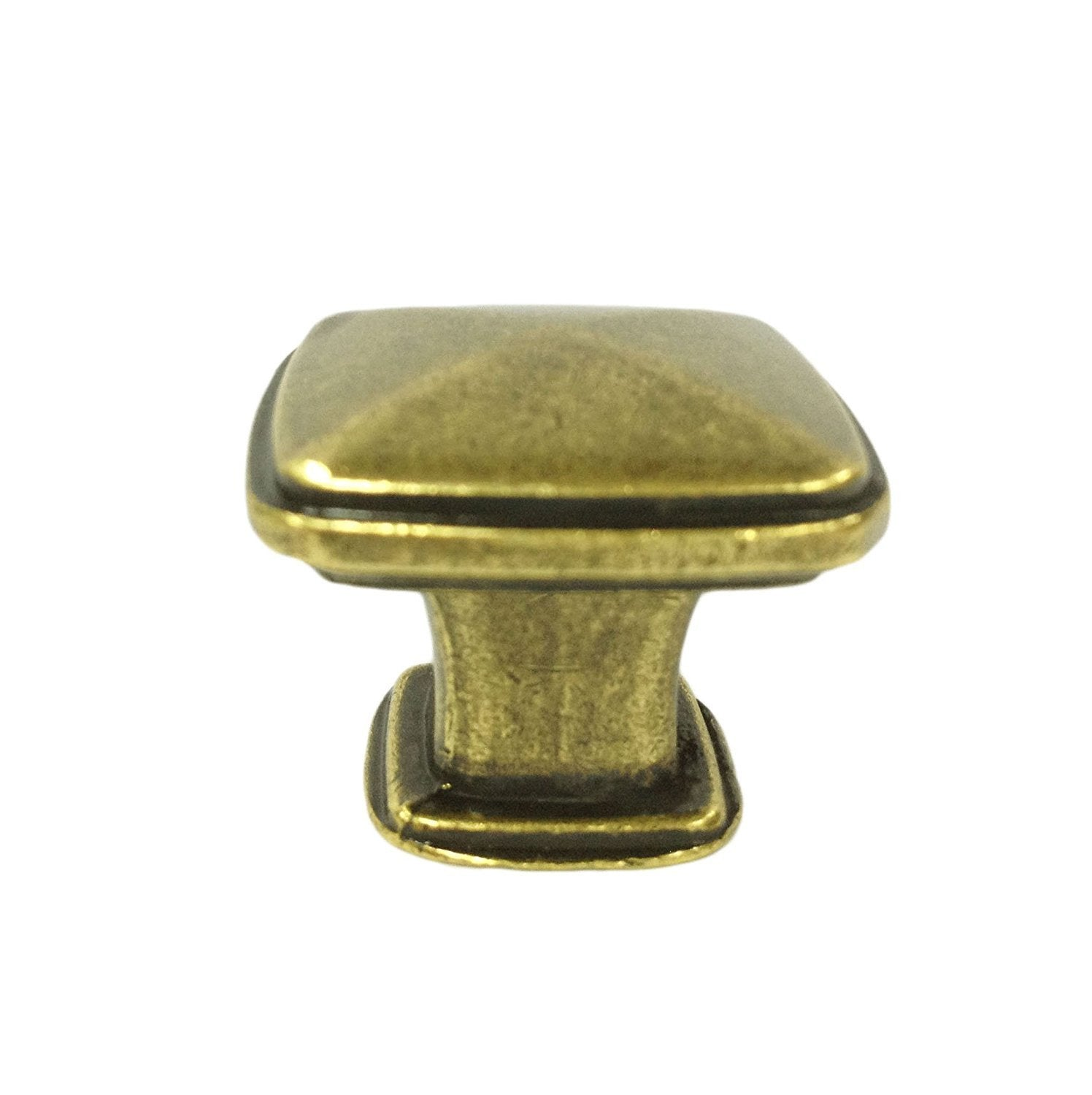 Alston Cabinet Hardware Knob 1-1/4 Inch Square - 10 Pack