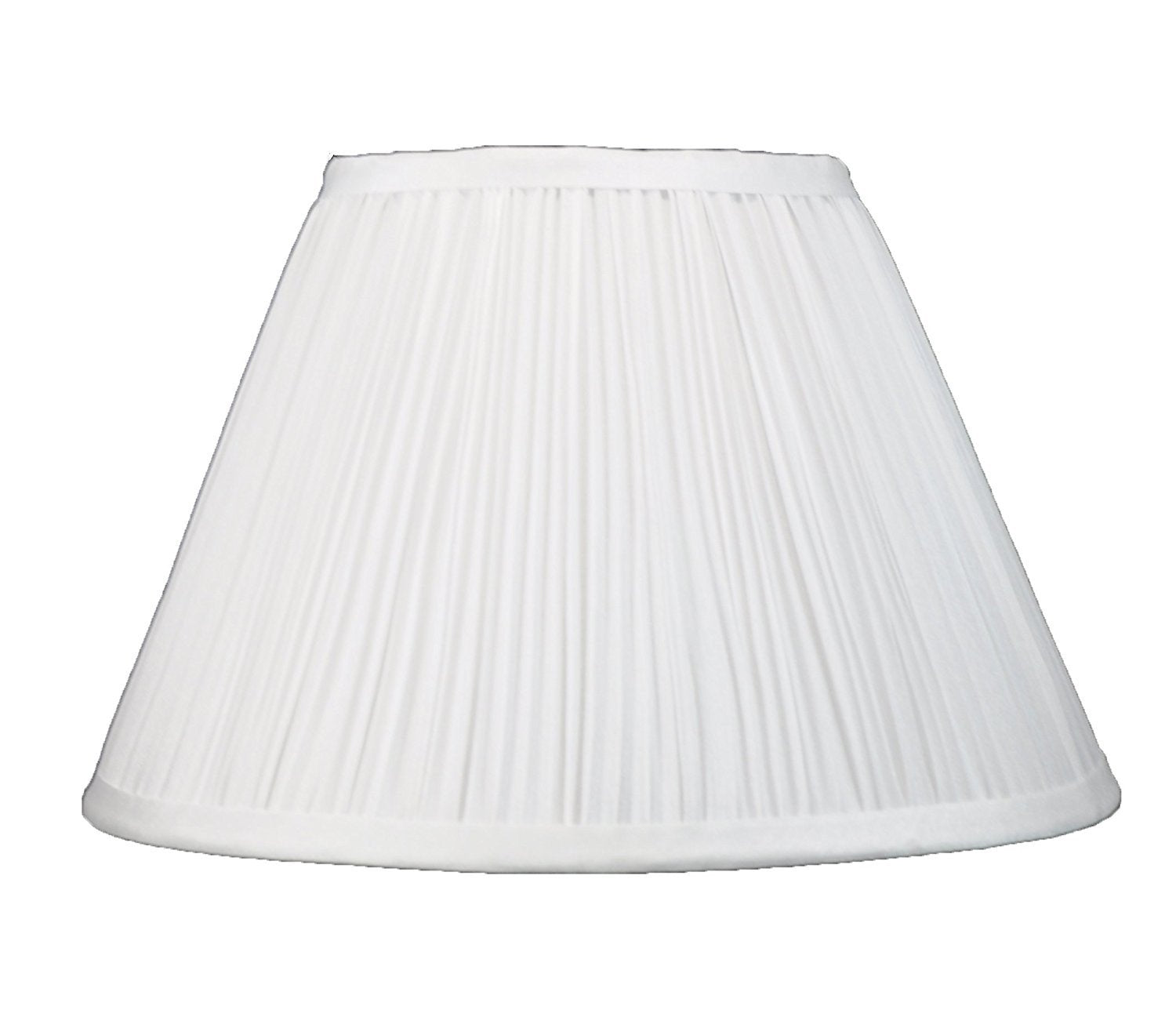 Mushroom Pleated Faux Silk Bell 14 Inch Lamp Shade 6