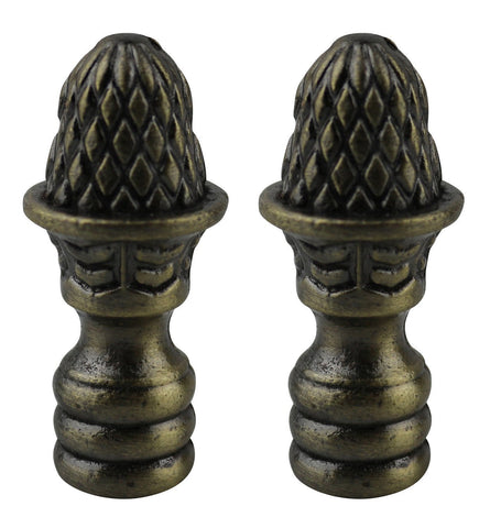 Artichoke Lamp Finial, 1 11/16-inch Tall