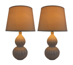 Set of 2 Aiden Table Lamps with Shades