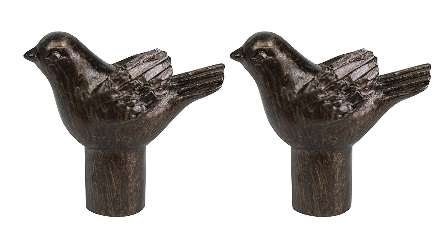 Bird Lamp Finial - 4 Finishes