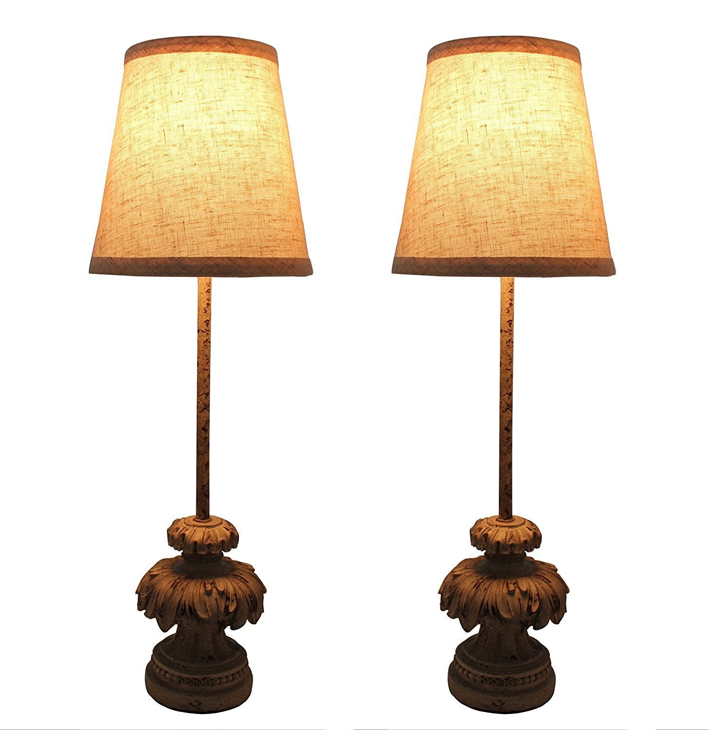 Set of 2 Bainbridge Mini Buffet Lamps with Shades