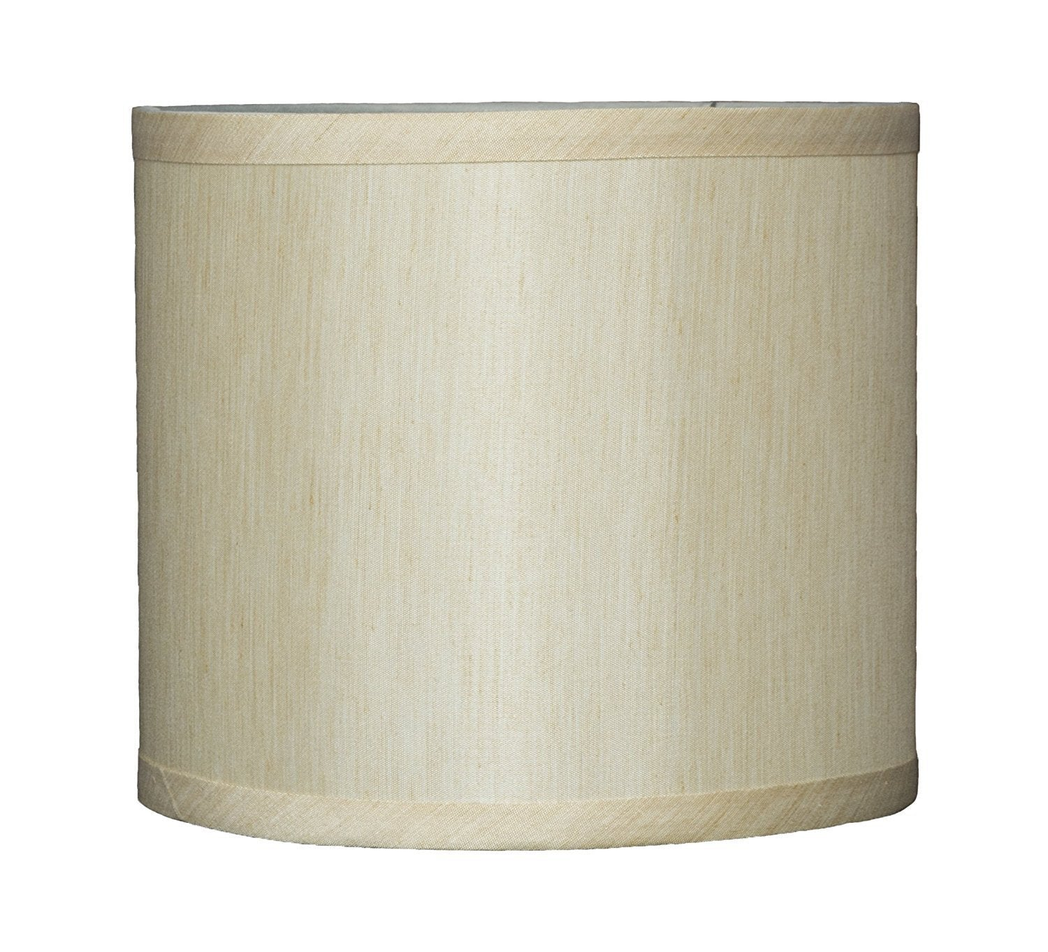 Faux Silk 8-inch Drum Lampshade - 7 Colors