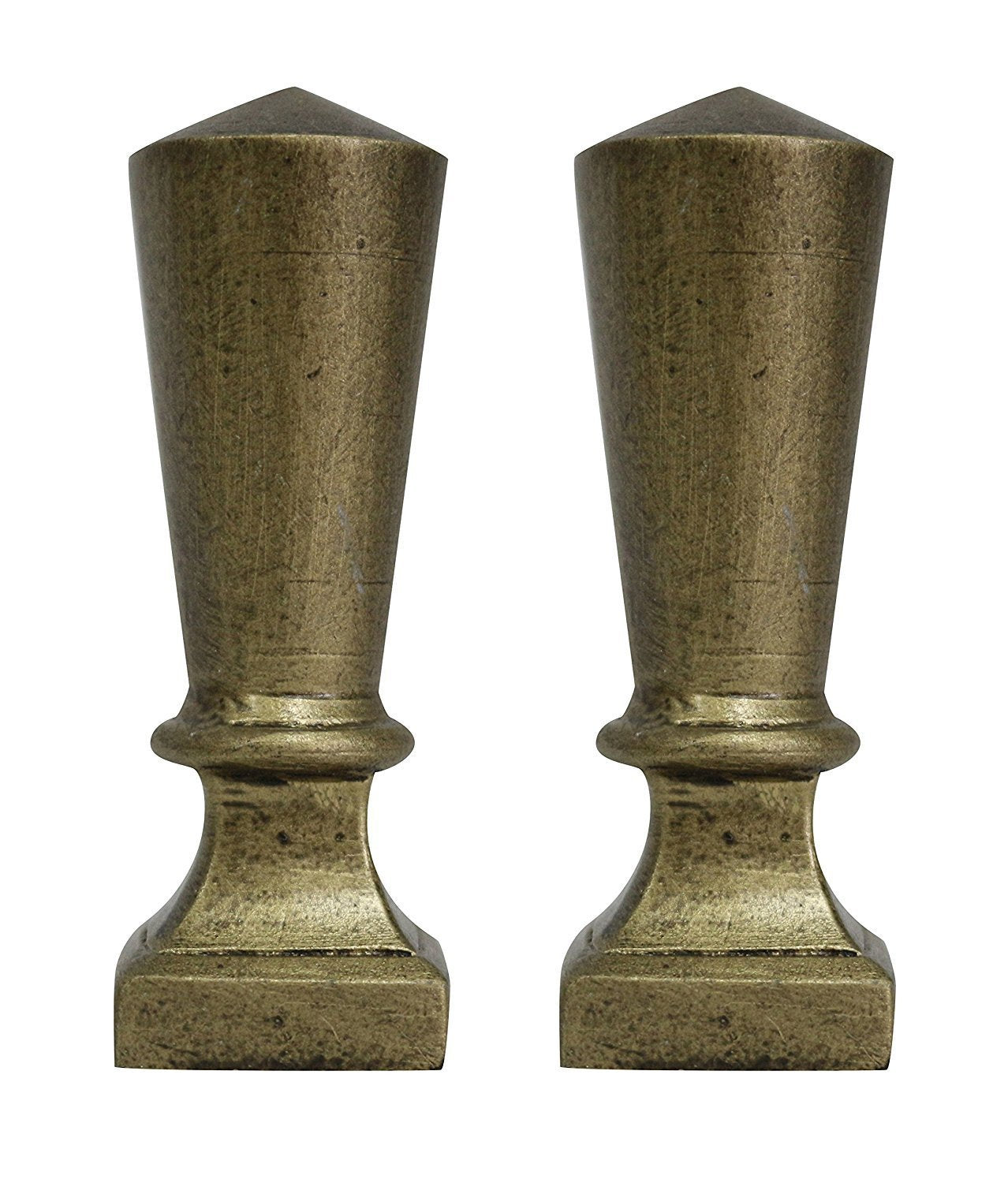 Olivet Lamp Finial, 2 1/2-inch Tall