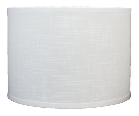 Linen Drum Lamp Shade, 14-inch By 14-inch By 10-inch, Spider