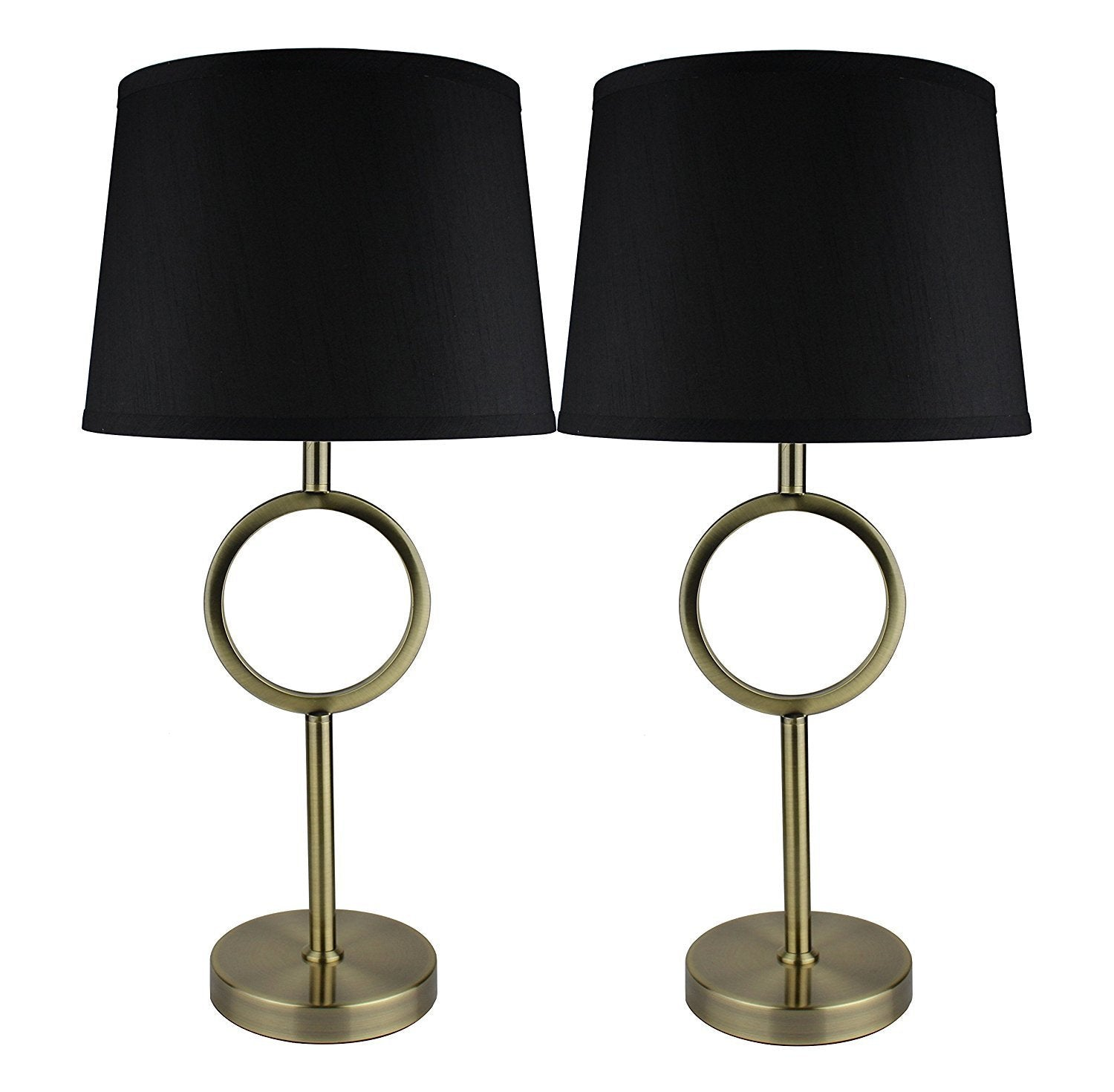 Set of 2 Madison Table Lamps with Shades