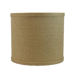 Urbanest Burlap Drum Lamp Shade, 8-inch By 8-inch By 7-inch, Spider