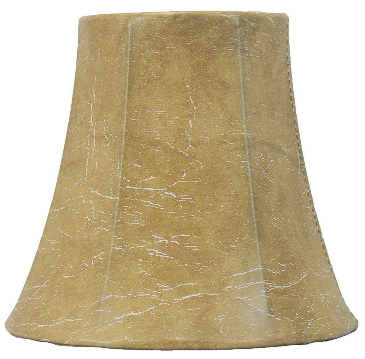 "Faux Leather Chandelier Mini Lamp Shade - 5"" and 6"" Sizes"