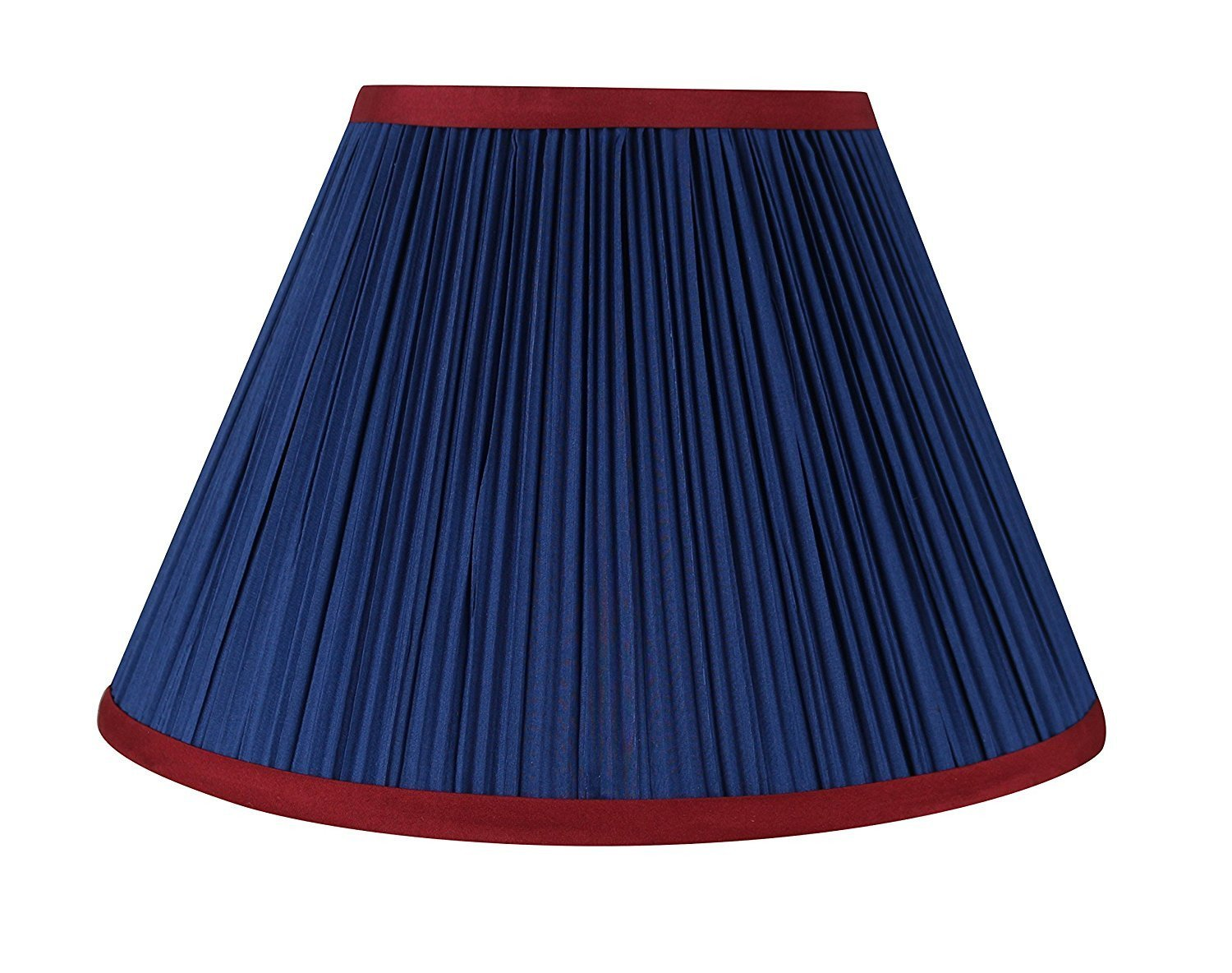 Mushroom Pleated Softback 12-inch Lamp Shade - 6 Colors