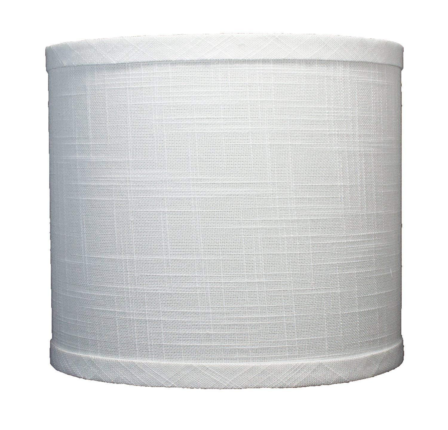 Linen Drum Lamp Shade 8 Inch By 8 Inch By 7 Inch Spider Urbanest