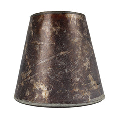 3-inch by 5-inch by 4.5-inch Mica Chandelier Shade