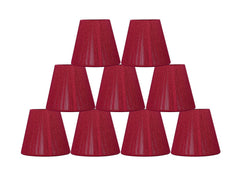 String 5-inch Chandelier Lamp Shade - 8 Colors