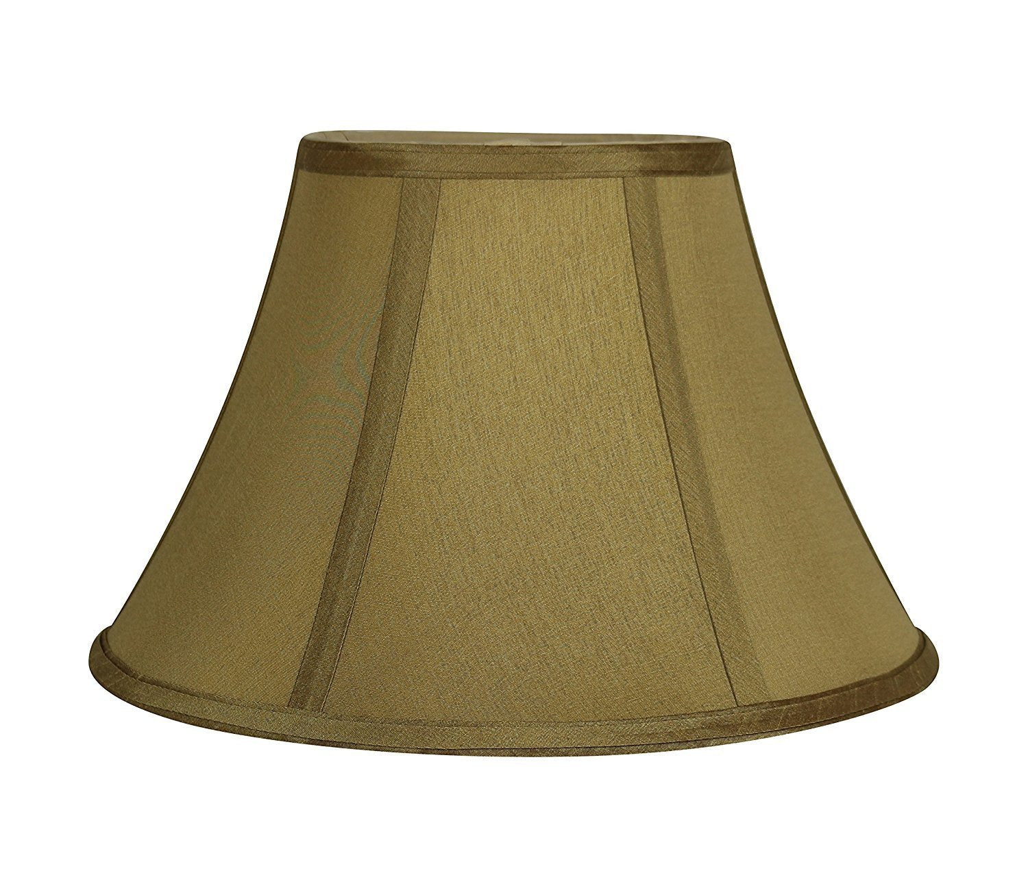 "12"" Softback Faux Silk Bell Lampshade - 10 Colors"