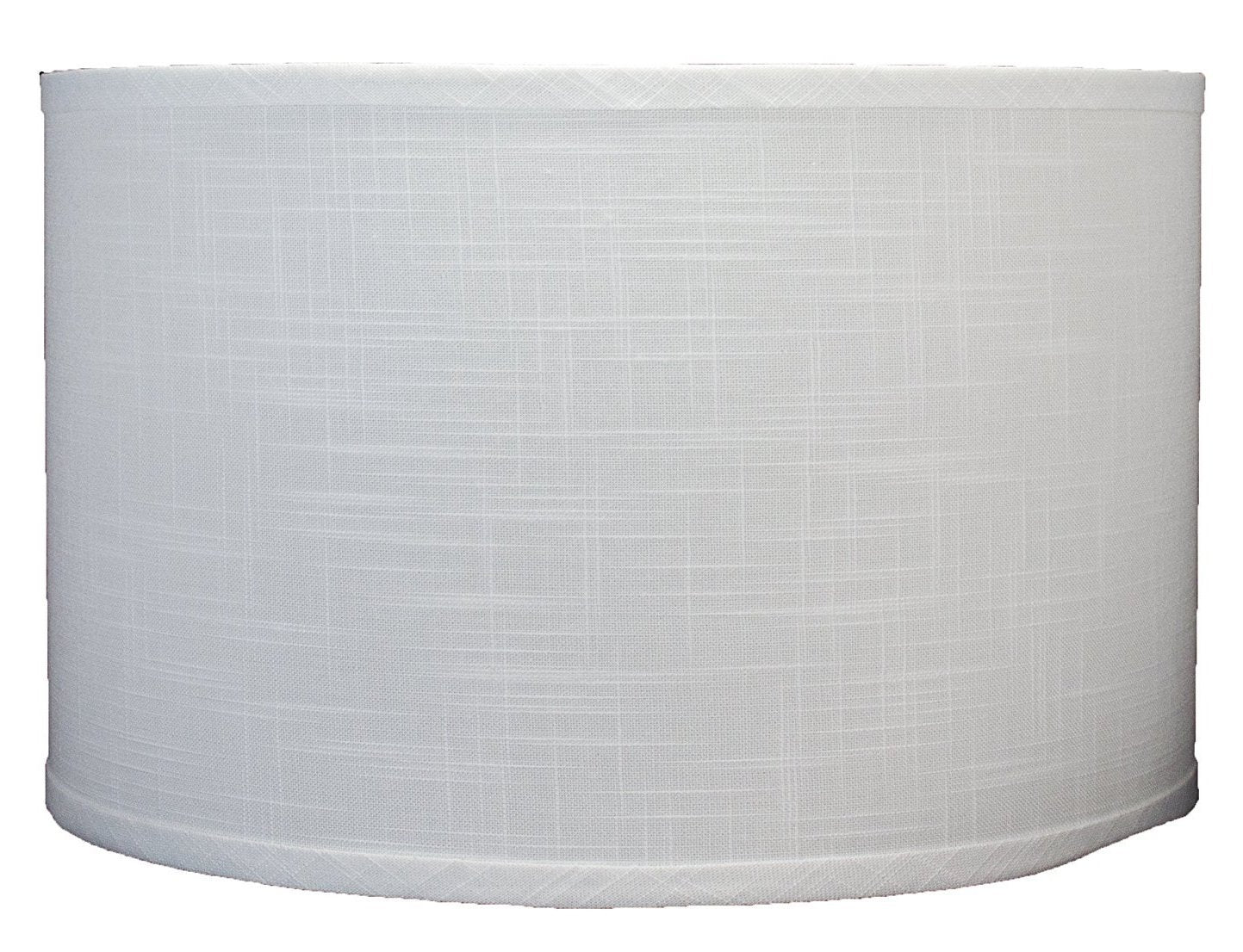 Linen Drum Lamp Shade, 16-inch By 16-inch By 10-inch, Spider