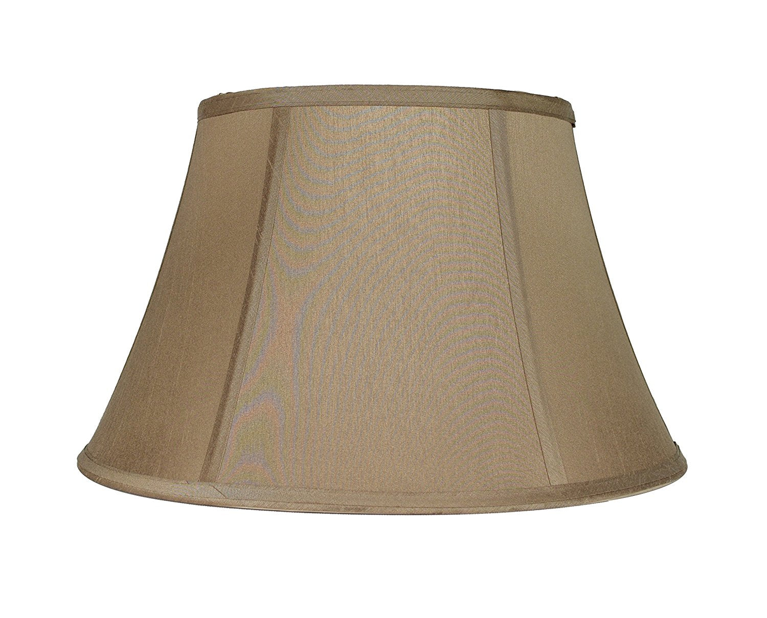 Faux Silk 16-inch Softback Bell Lampshade - 6 Colors