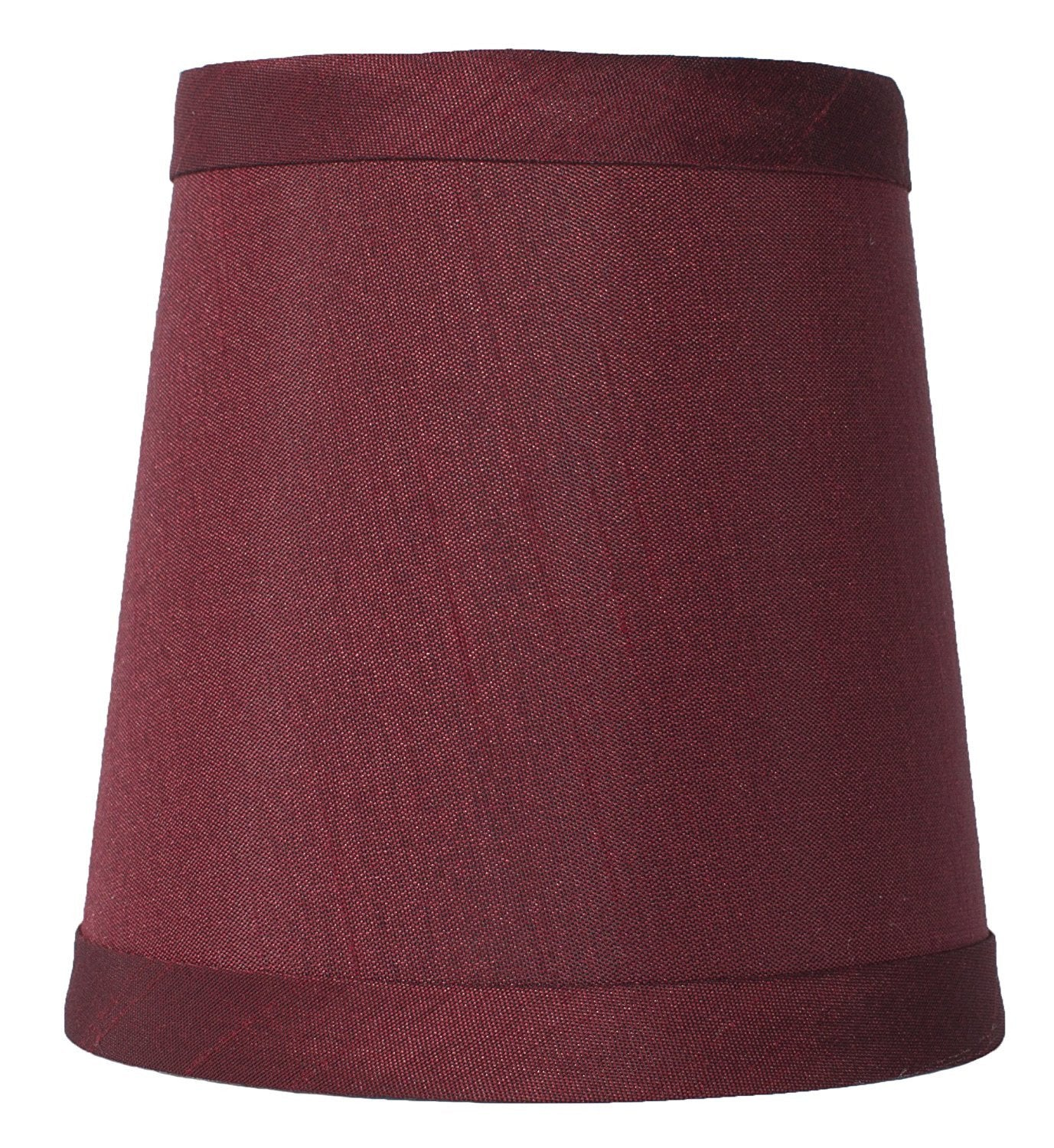 Faux Silk 4-inch Chandelier Lamp Shade - 9 Colors
