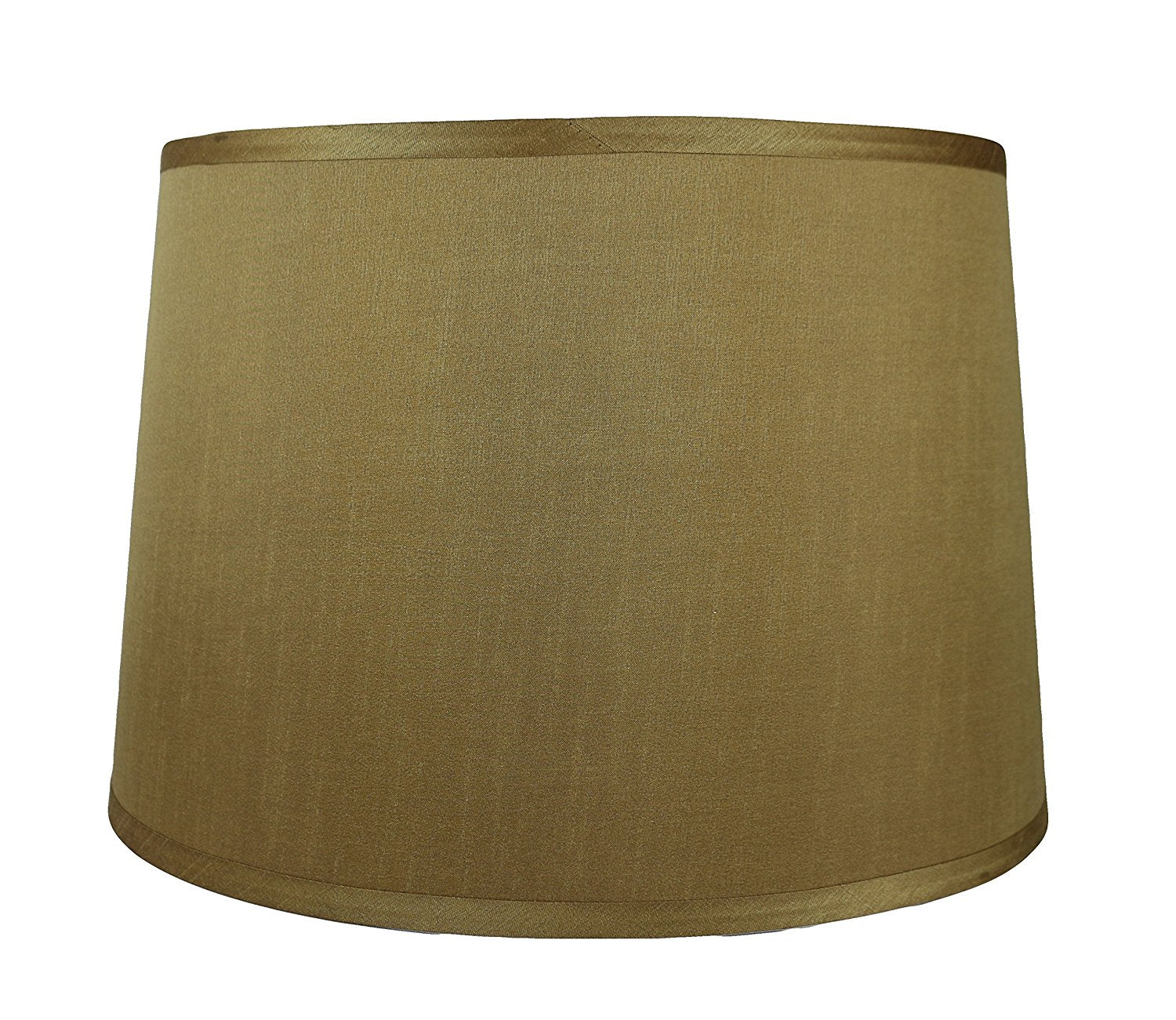 French Drum Faux Silk 16 Inch Lampshade 6 Colors Urbanest
