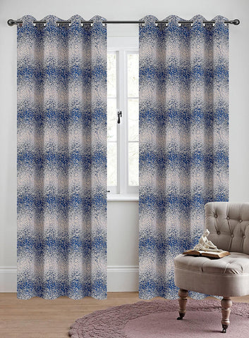 Jacquard Metro Set of 2 Curtain Panels with Grommets - 4 Colors