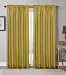 Soho Sheer Drapery Curtain Panels - 5 Colors