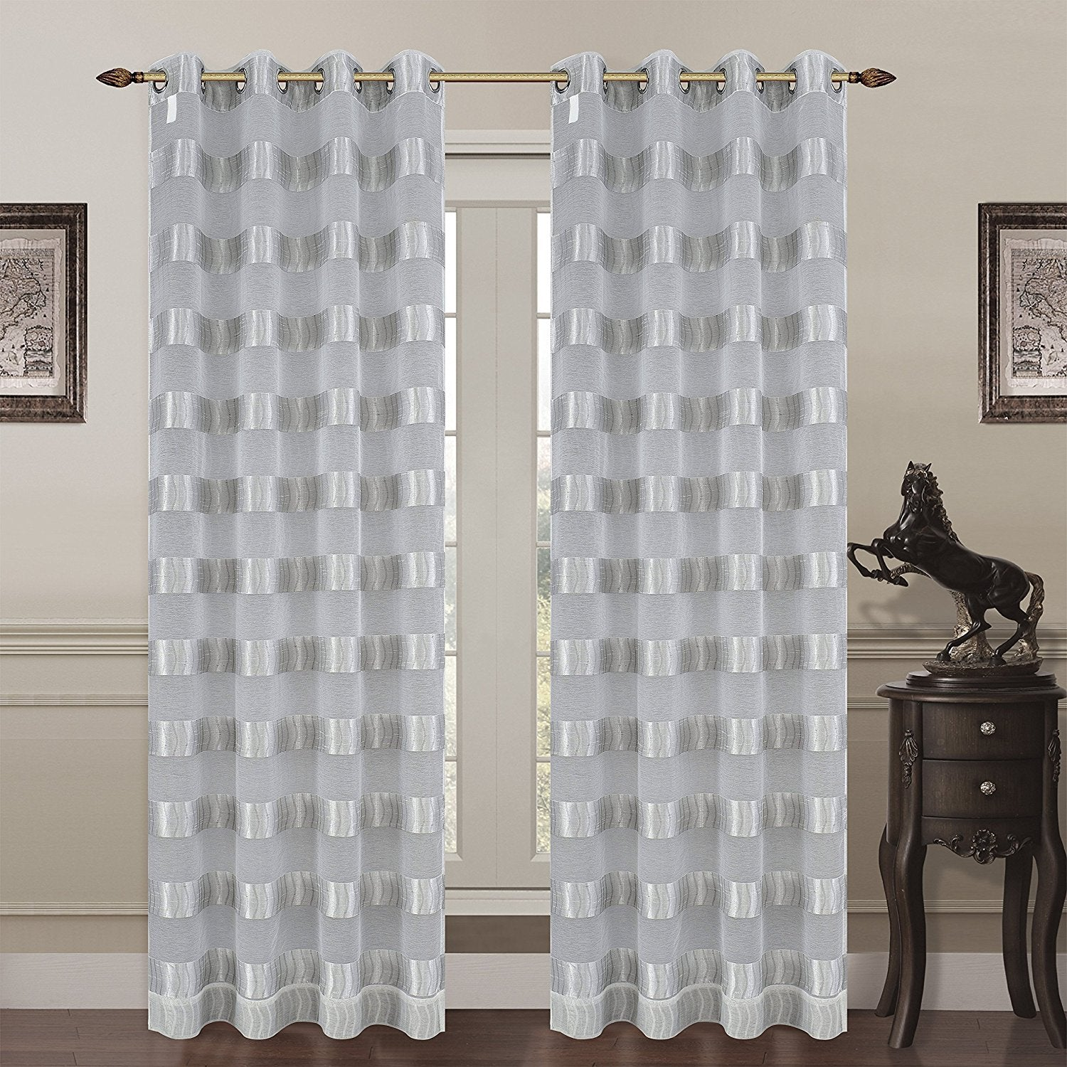 diamond wide voile panels l window in sheer curtains white p elements extra drapes x w grommet panel curtain