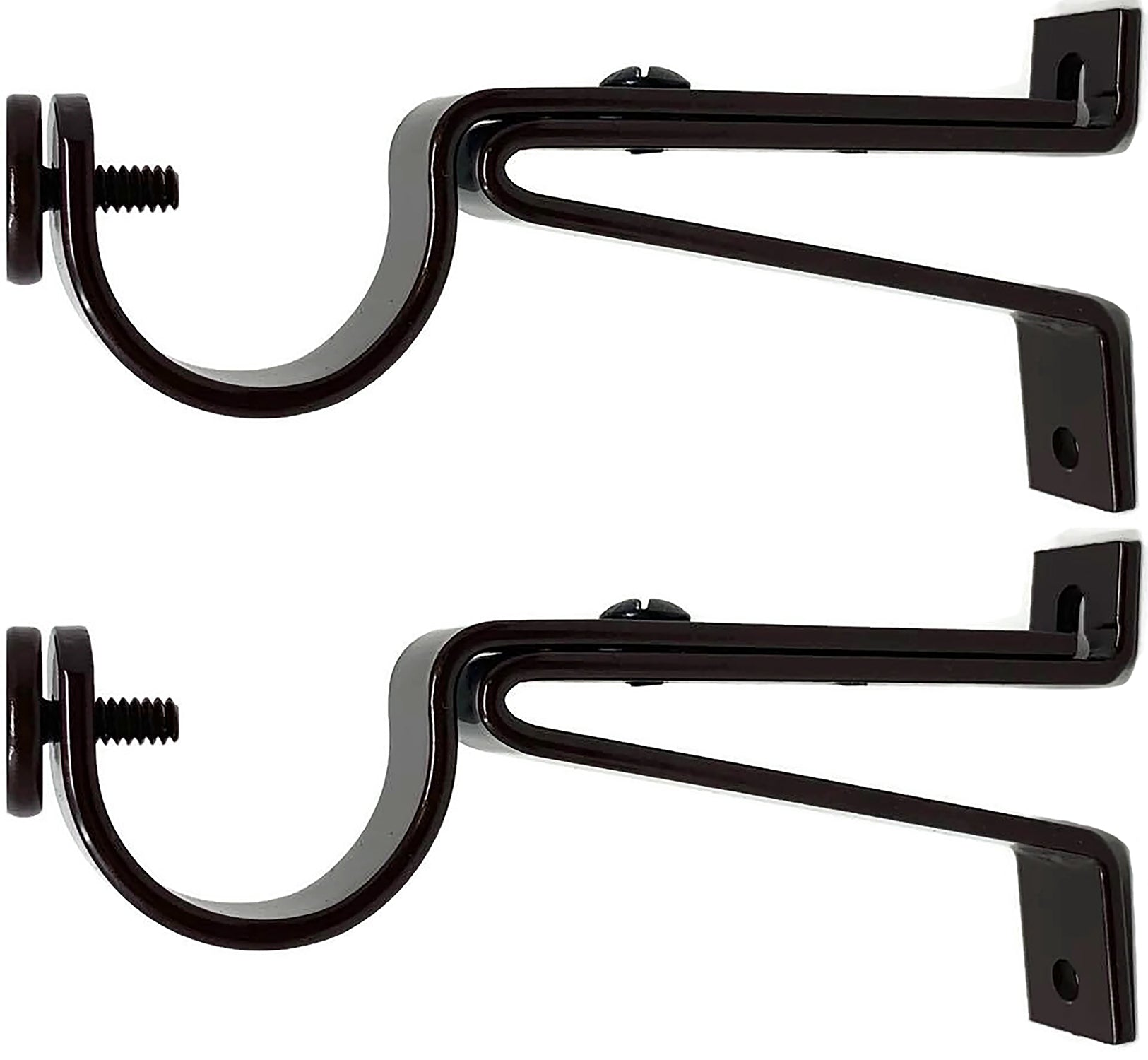 Urbanest Adjustable Curtain Rod Bracket, up to 1 1/8-inch Diameter Rods