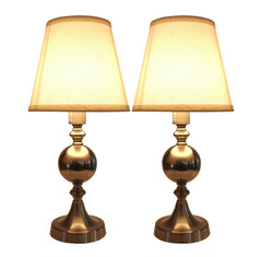 Set of 2 Ellery Touch Accent Lamps