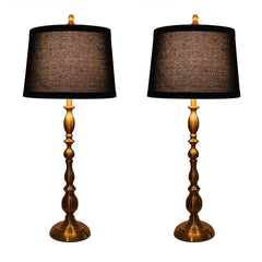 Parker Set of 2 Table Lamps with Shades