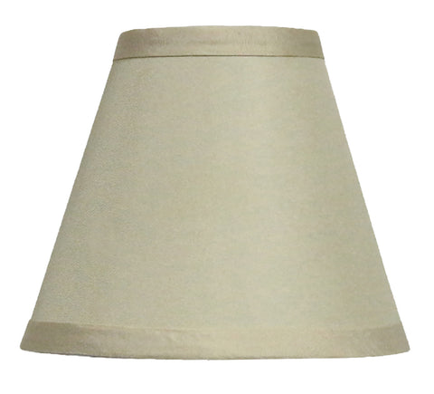 Satin 6-inch Chandelier Lamp Shade - 10 Colors
