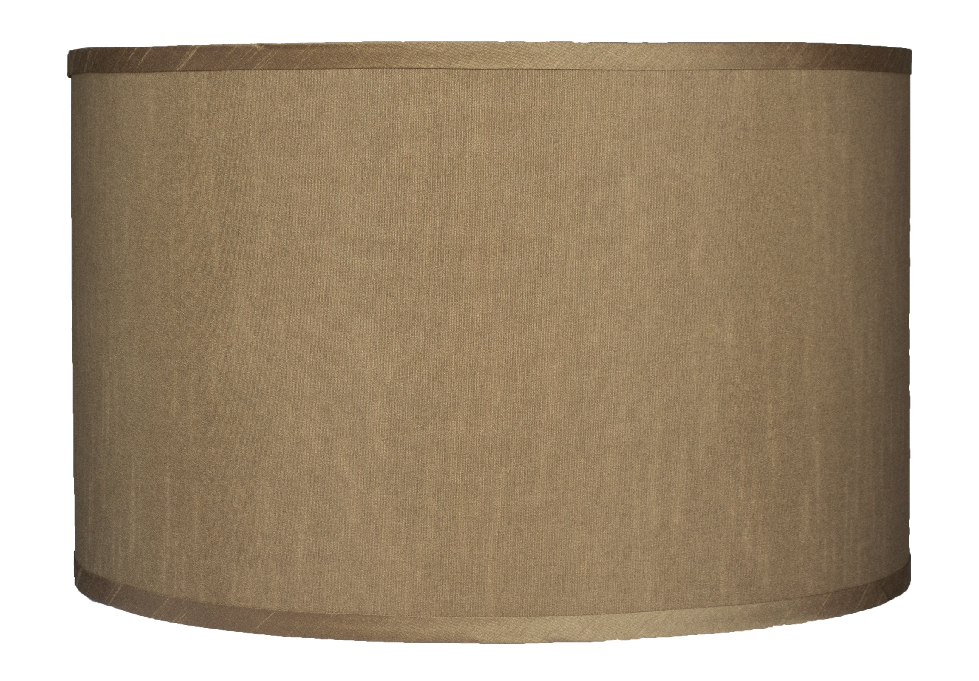 Faux Silk Drum 16-inch Lampshade - 6 Colors